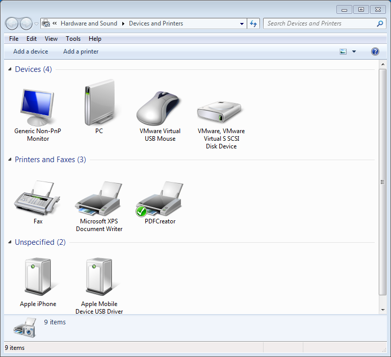 Vmware Tools Hangs Installing Thin Print Drivers